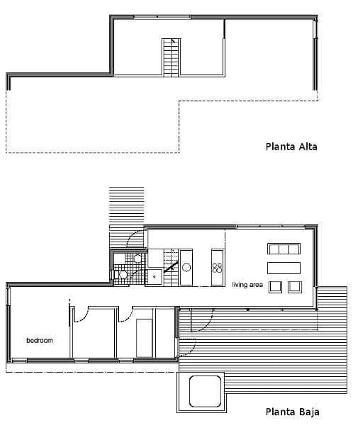 casa prefabricada en Islandia de Glama Kim - Planos