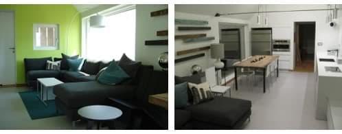 fotos del interior de la Gable Home