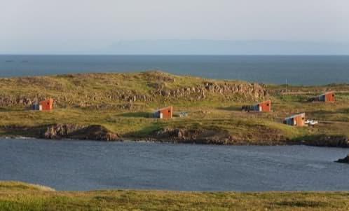 casas prefabricadas de verano en Islandia