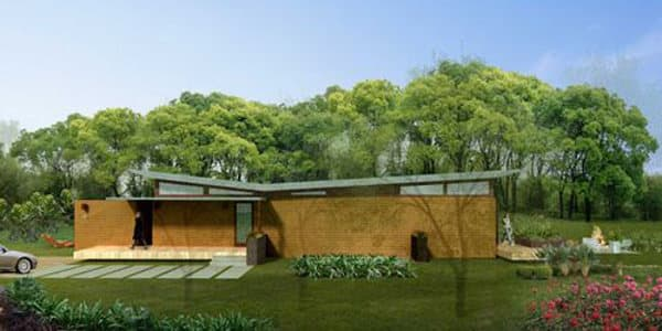 Casa prefabricada sostenible de michelle kaufmann - Casa ecologica prefabricada ...