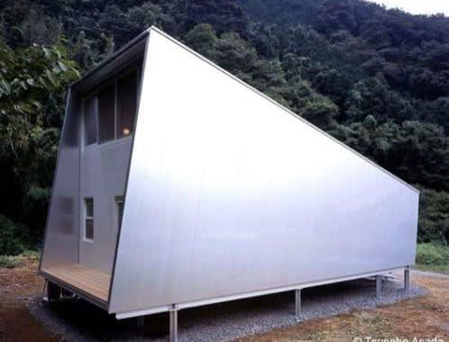 Cabaña de aluminio