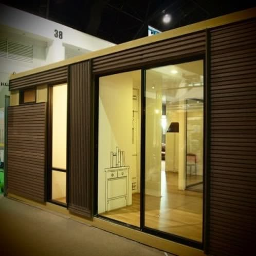 Casa prefabricada a partir de contenedores modificados - Casas prefabricadas contenedores ...