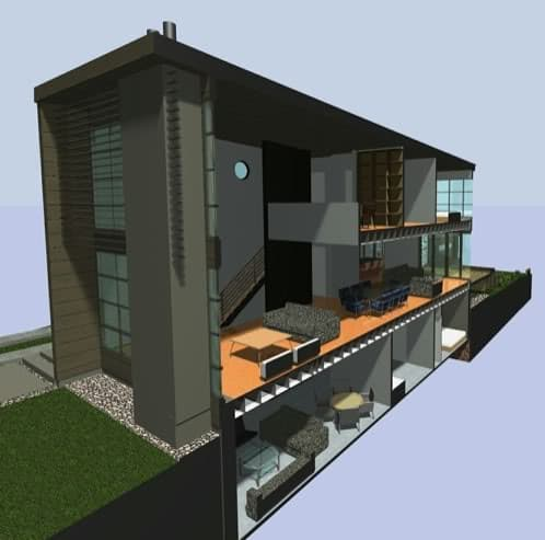 seccion de la vivienda