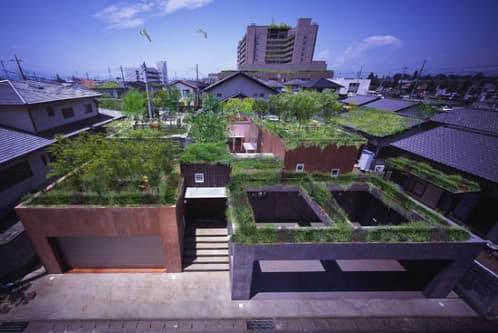 vivienda secret garden de Ryuichi Ashizawa