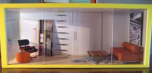 replica contenedor maritimo para casa de muñecas