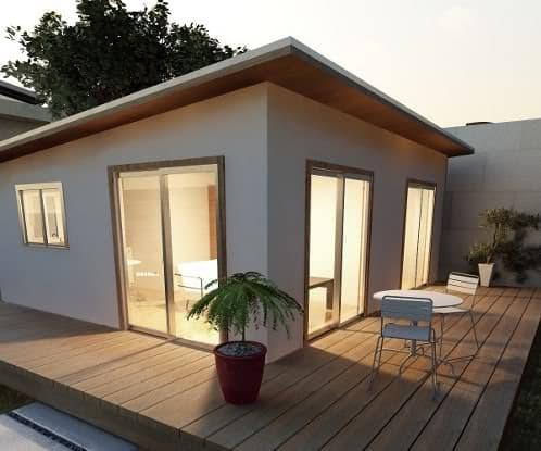 P pod casas m nimas prefabricadas en kit for Kit casa icf