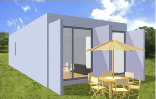 Viviendas ecoestandar prefabricadas hechas con - Casas contenedor espana ...