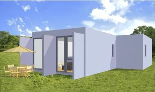 casa contenedor Box2H+1A