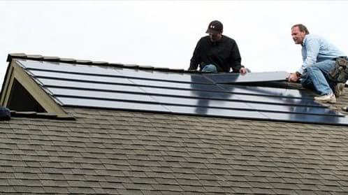 tejas solares planas de Sun Energy Shingle