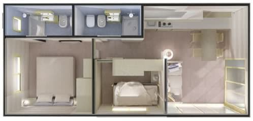 casa móvil donatello modelo Suite