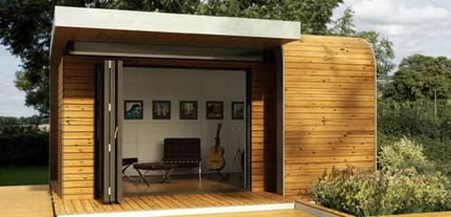 Estructuras prefabricadas sostenibles como habitaciones de for Estructuras para jardin