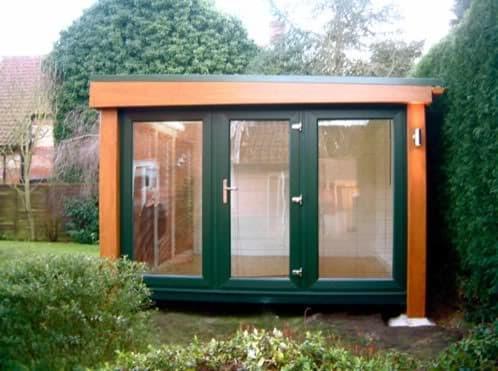 Habitaciones prefabricadas para el jard n booths garden for Casetas prefabricadas para jardin