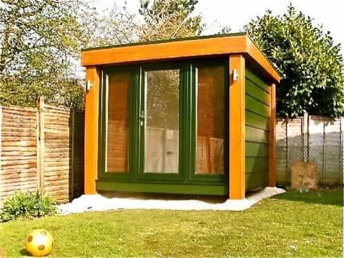 Habitaciones prefabricadas para el jard n booths garden - Habitaciones prefabricadas economicas ...