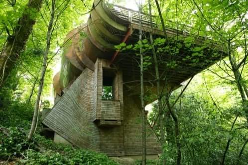 vivienda similar a una casa árbol