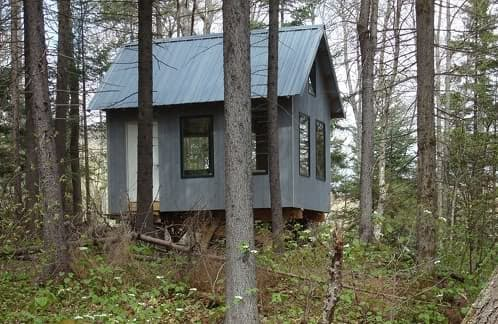 Caba a baulbit c mo construir un refugio de madera - Como hacer una cabana de madera ...