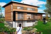 Casas prefabricadas de Fab-Homes
