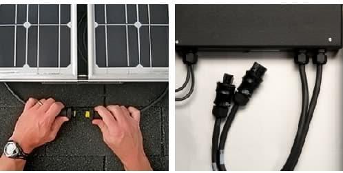 modulos-fotovoltaicos con micro inversores plug-and-play
