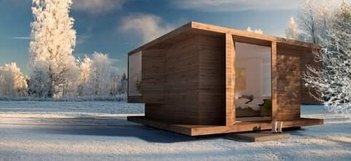 moderna cabaña sueca ks2