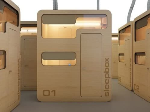 modulo sleepbox-albergue