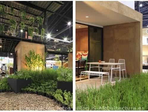 Casa experimento con t cnicas prefabricadas tapial - Feria de casas prefabricadas ...