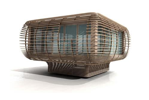fincube-casa-ecologica-prefabricada transportable para turismo ecológico