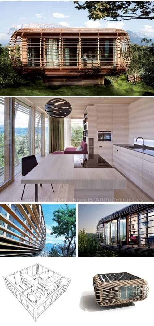Pin fincube moderna casa prefabricada ecol gica on pinterest - Casa prefabricada moderna ...