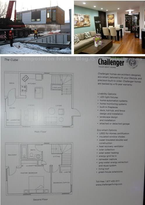 prefabricada-modular-cube Planos de la casa