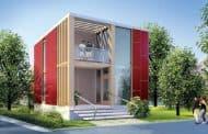 CUBE: una prefabricada modular canadiense