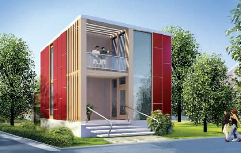 casa prefabricada-modular-cube de Challenger Living