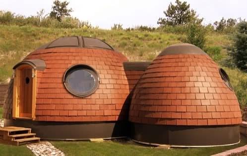Eco hab casas ecol gicas prefabricadas de forma abovedada - Casas prefabricadas ecologicas ...