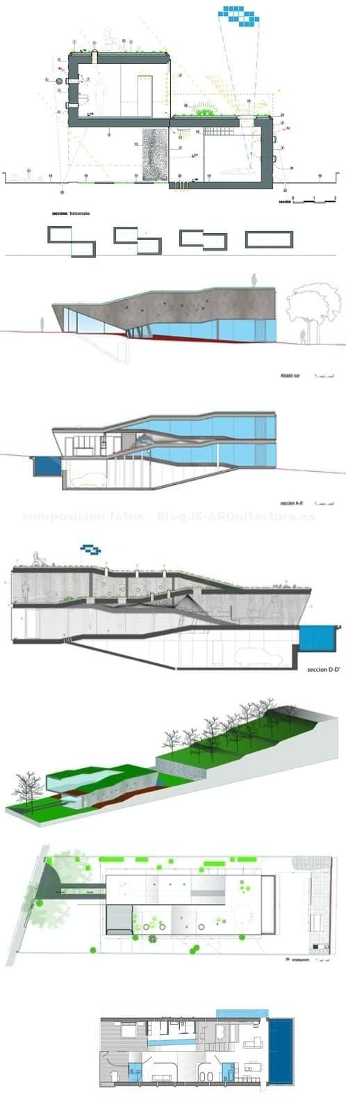Villa_Bio-planos-secciones