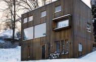 Bornstein House: moderna casa de madera en Gotemburgo