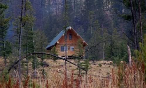 Casas troncos madera