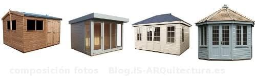 Cobertizos y oficinas para el jard n de crane sheds for Cobertizos prefabricados