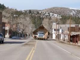 transporte de cabaña de madera