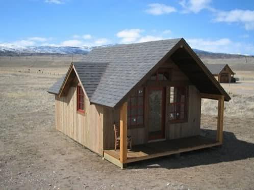 casa-madera-pradera hecha por Paul McMullin