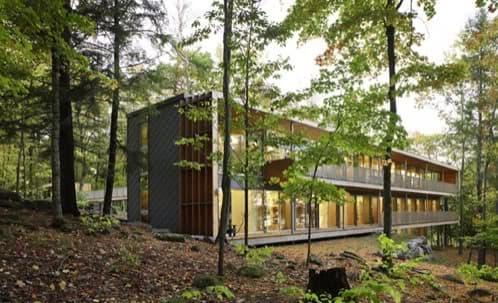 casa-prefabricada modular en muskoka ontario canadá