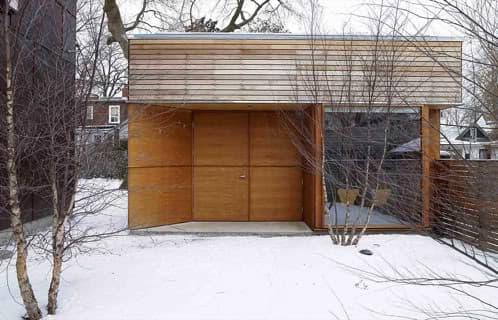 estudio en el jardín premiado por el RAI de Canadá