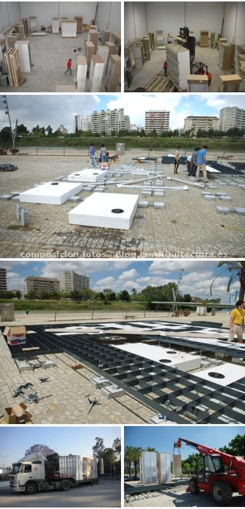 montaje-casa-solarkit Universidad de Sevilla
