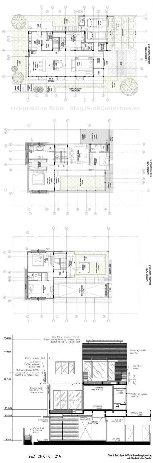 planos de la eco villa setia