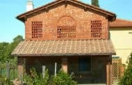 Células solares sobre tejas cerámicas