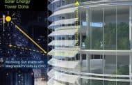 Protección solar y generación de energía de GHD