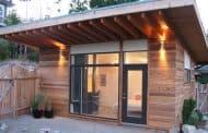 Eco-Shed: moderno y sostenible cobertizo de $100.000