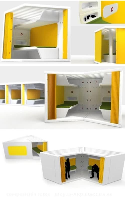 Life3 m dulos prefabricados para emergencias - Modulos de vivienda prefabricados ...
