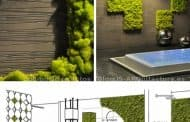 Mosstile: jardín vertical en un muro