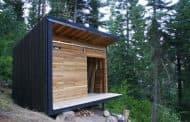 Signal Shed: Moderna cabaña en Oregon