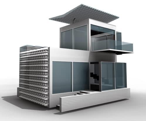 Casa ecol gica del futuro - Casa ecologicas prefabricadas ...