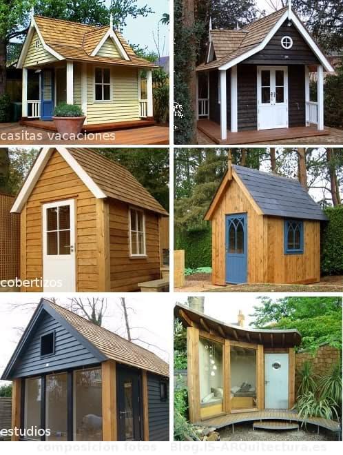 Casas de madera estilo escandinavo de havenwood - Casitas pequenas de madera ...