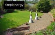 Simplenergy: turbina eólica que se ve bien en el jardín