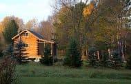 Cabaña prefabricada de madera de 22m2
